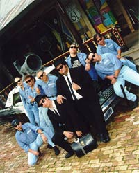 Acura Augusta on Blues Brothers Impersonators